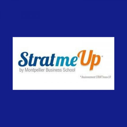 Logo StartmeUp by Montpellier Business School