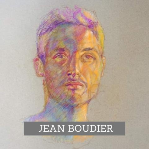 Peintre pastel Jean Boud agence web marketing So Conseils Lozère