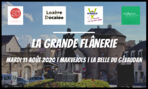 Agence web SO Conseils Lozère Décalée communication événement La Grande Flânerie Marvejols