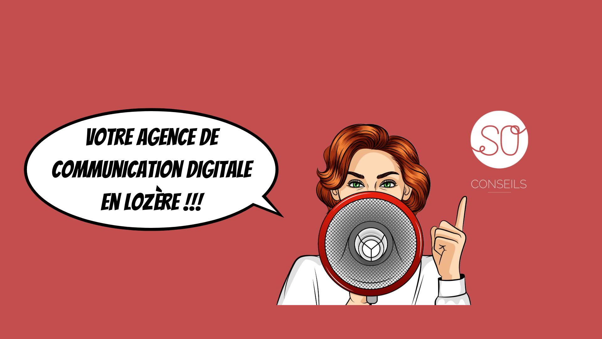 Agence de communication web marketing Lozère SO Conseils