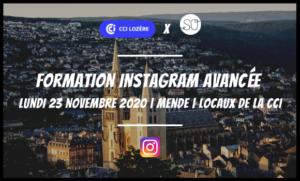 Création gestion page Instagram agence de communication web marketing Lozère SO Conseils