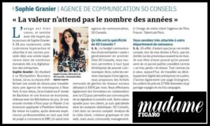 Madame Figaro - Revue de presse So Conseils agence web marketing Lozère